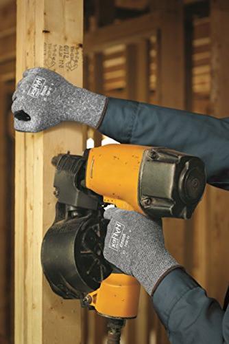 Ansell Glove, Black Coating, Wrist Large, Size