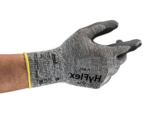 hyflex 11 foam nitrile coating