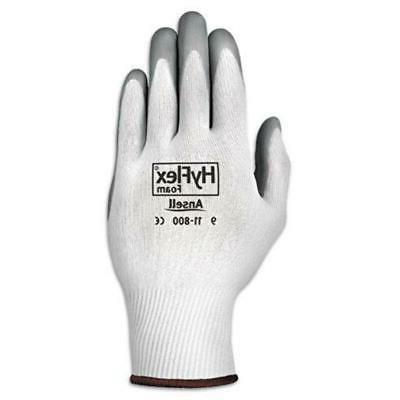 hyflex and reg foam nitrile coated nylon