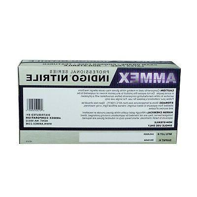 AMMEX Indigo Exam Disposable Gloves