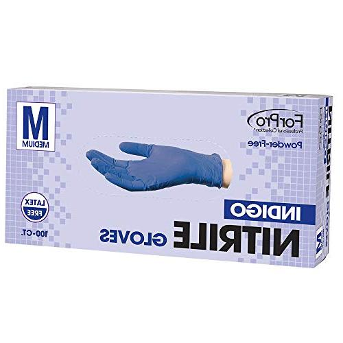 indigo nitrile gloves