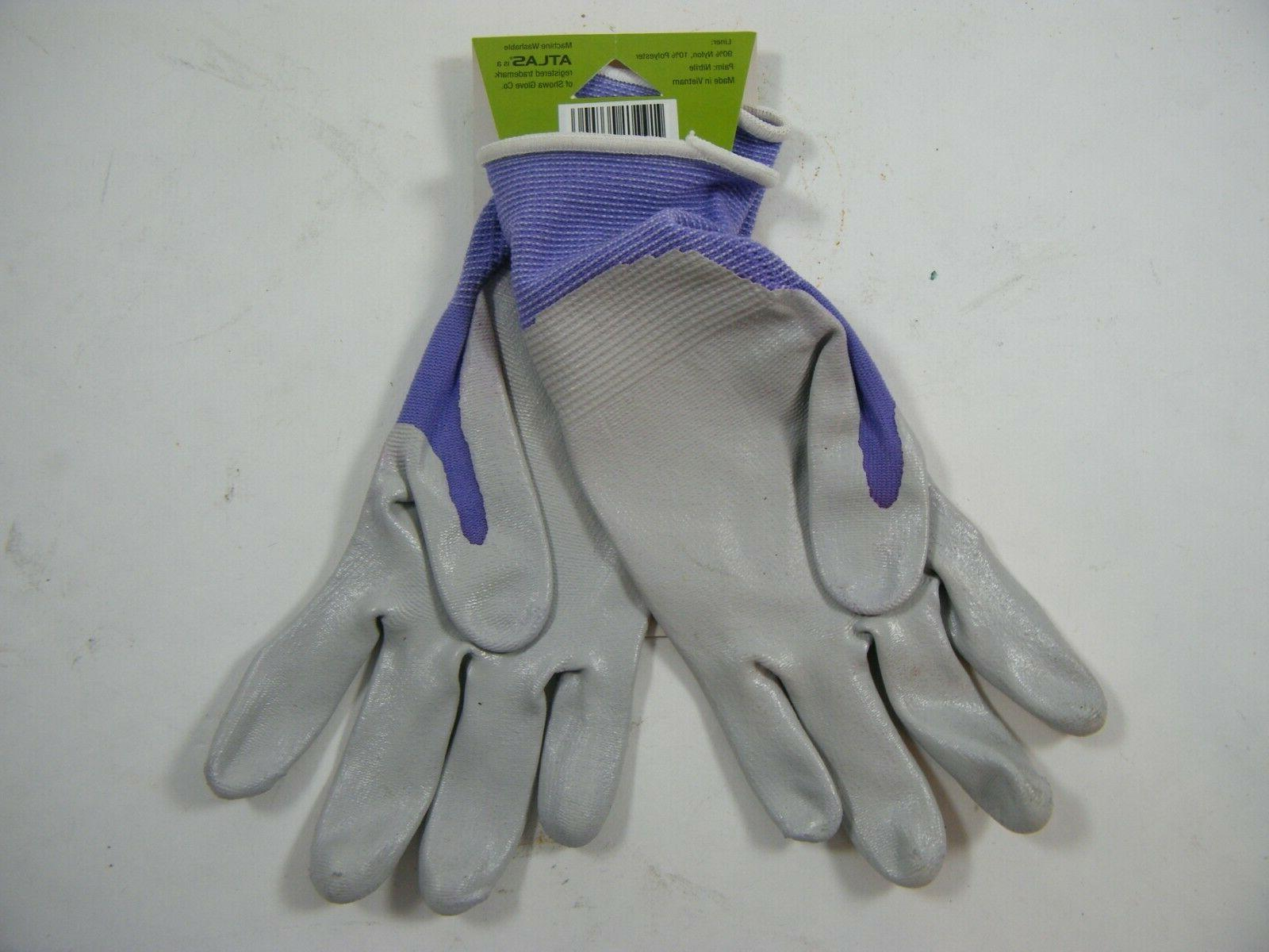 KIDS RUBBER PALMS WORK GLOVES EXTRA SMALL XS PURPLE