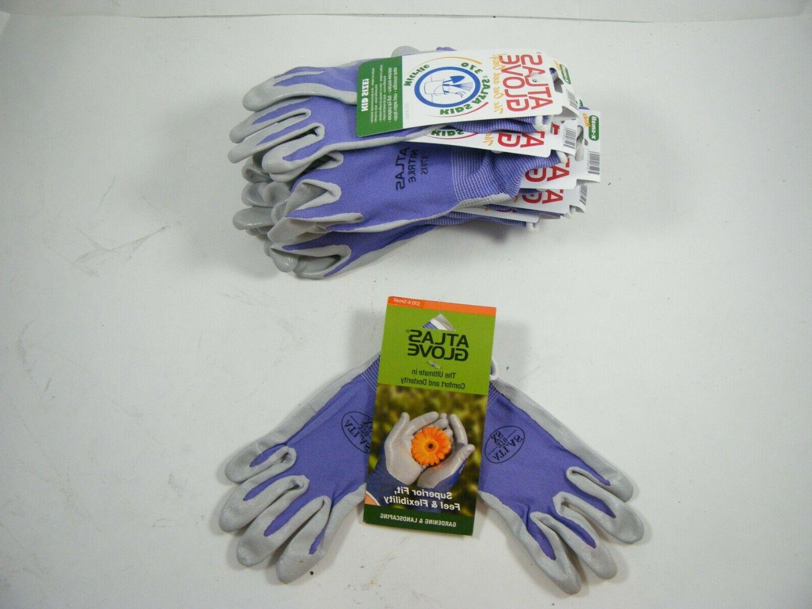 kids 370 nitrile rubber palms work gloves