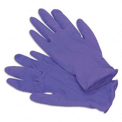 kim55082 purple nitrile exam gloves
