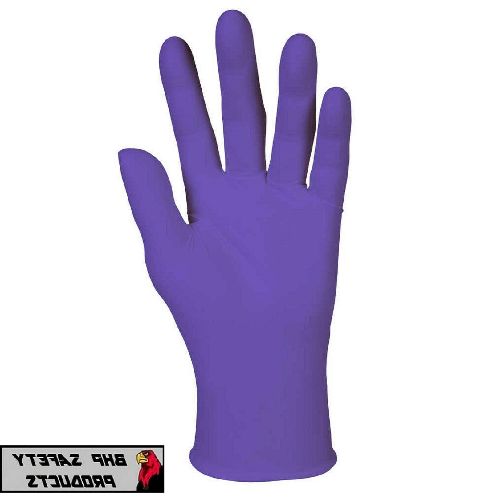kimberly clark kc500 purple nitrile exam powder