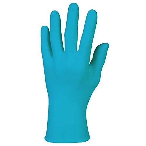 kimberly clark textured blue nitrile