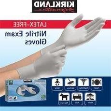 KIRKLAND SIGNATURE NITRILE EXAM GLOVES 200 ct Medium
