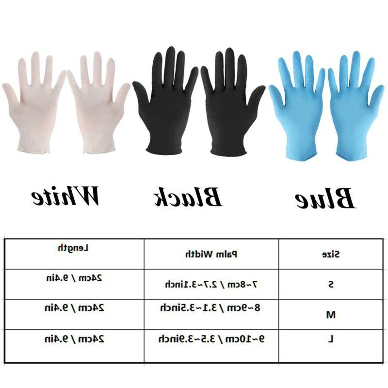 Laboratory Gloves Home Rubber Disposable
