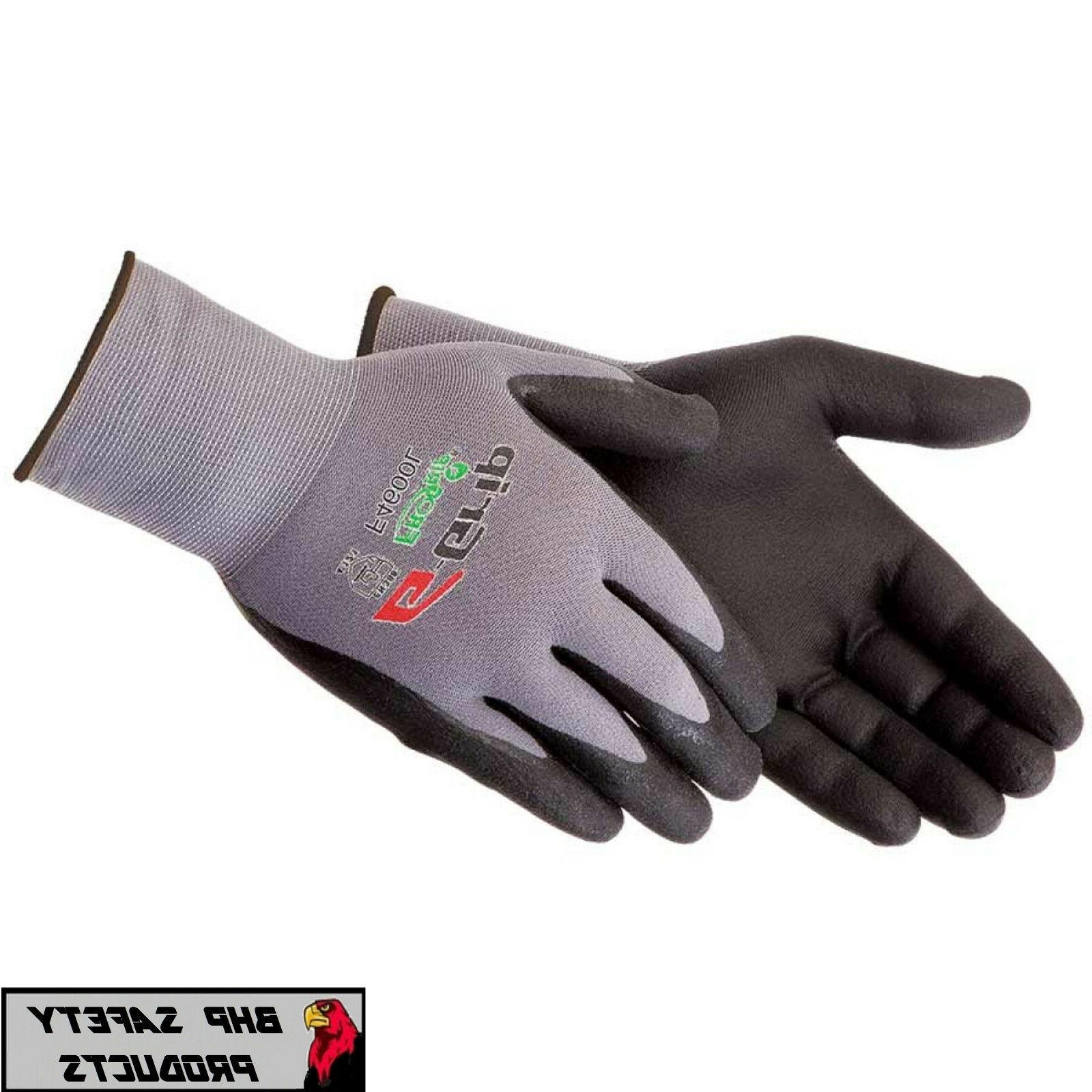 liberty g grip work gloves foam nitrile