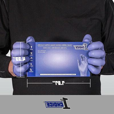 1st Choice Nitrile Exam Latex Disposable Gloves