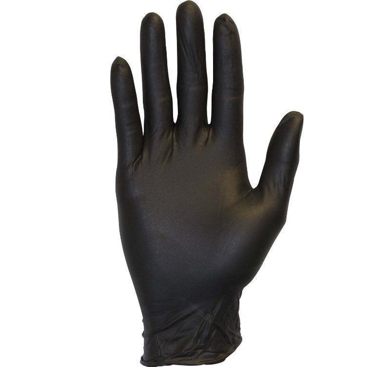 Lots Industrial Glove Black Nitrile Powder Free 3.5 mil MEDIUM