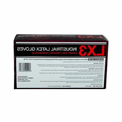 AMMEX Powder-Free Latex Gloves