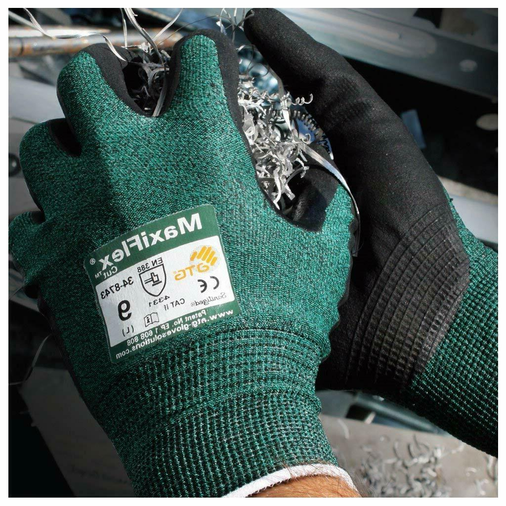 PIP Coated ANSI A2 Cut Resistant Work Gloves
