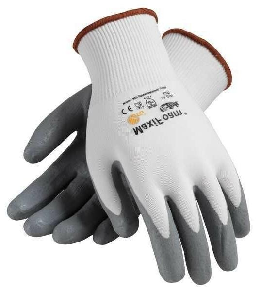PIP MaxiFoam G-Tek Premium Nitrile Foam Coated Gloves MEDIUM