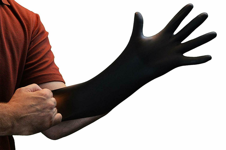 medical nitrile gloves disposable powder free exam