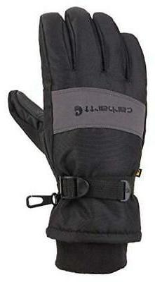 Carhartt Men's W.p. Waterproof Insulated Work Glove, Black/G