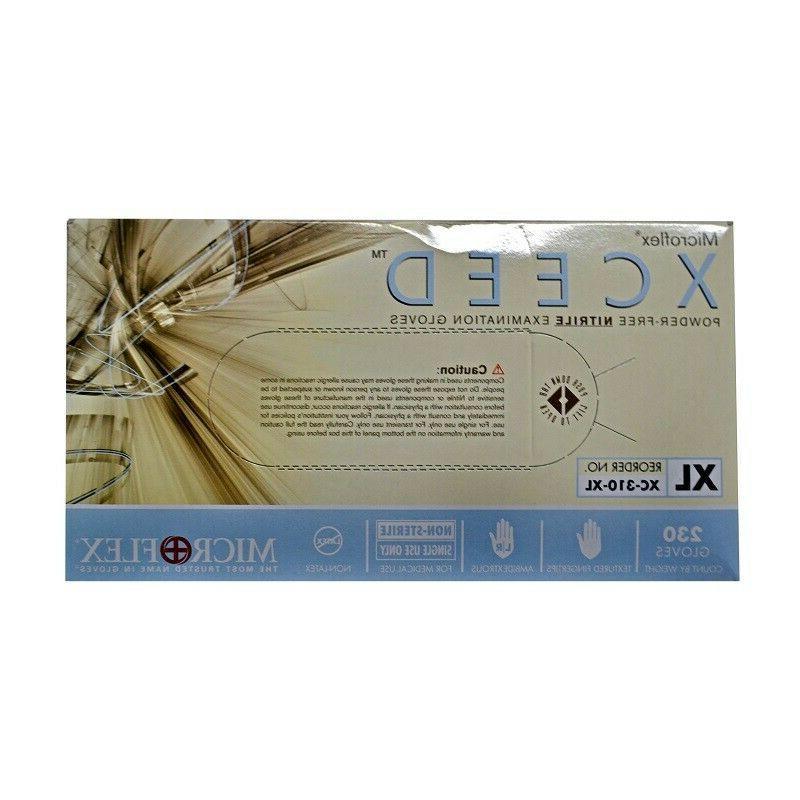 Ansell Microflex XCEED Powder-Free Nitrile Medical 230 Glove