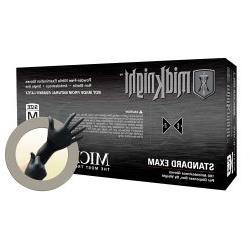 MidKnight Black Powder-Free Nitrile Examination Gloves - XL