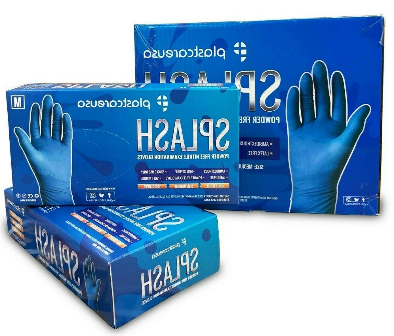 Nitrile Premium Blue Gloves XS-L