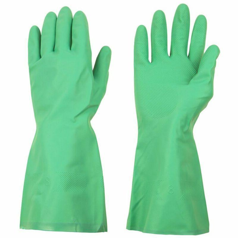 Nitrile Dishwashing Gloves 3 Pairs Household Chemical Cleani