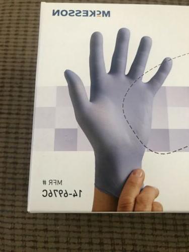 McKesson Nitrile Exam Powder Medium Gloves 3.5 C