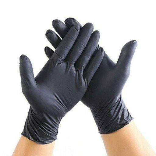 NITRILE Exam 4mil Powder gloves 100 - Medium