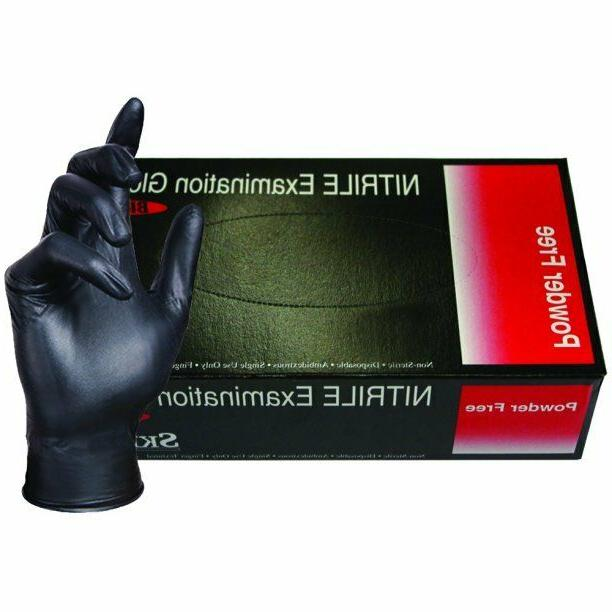 nitrile exam grade disposable 4mil powder free