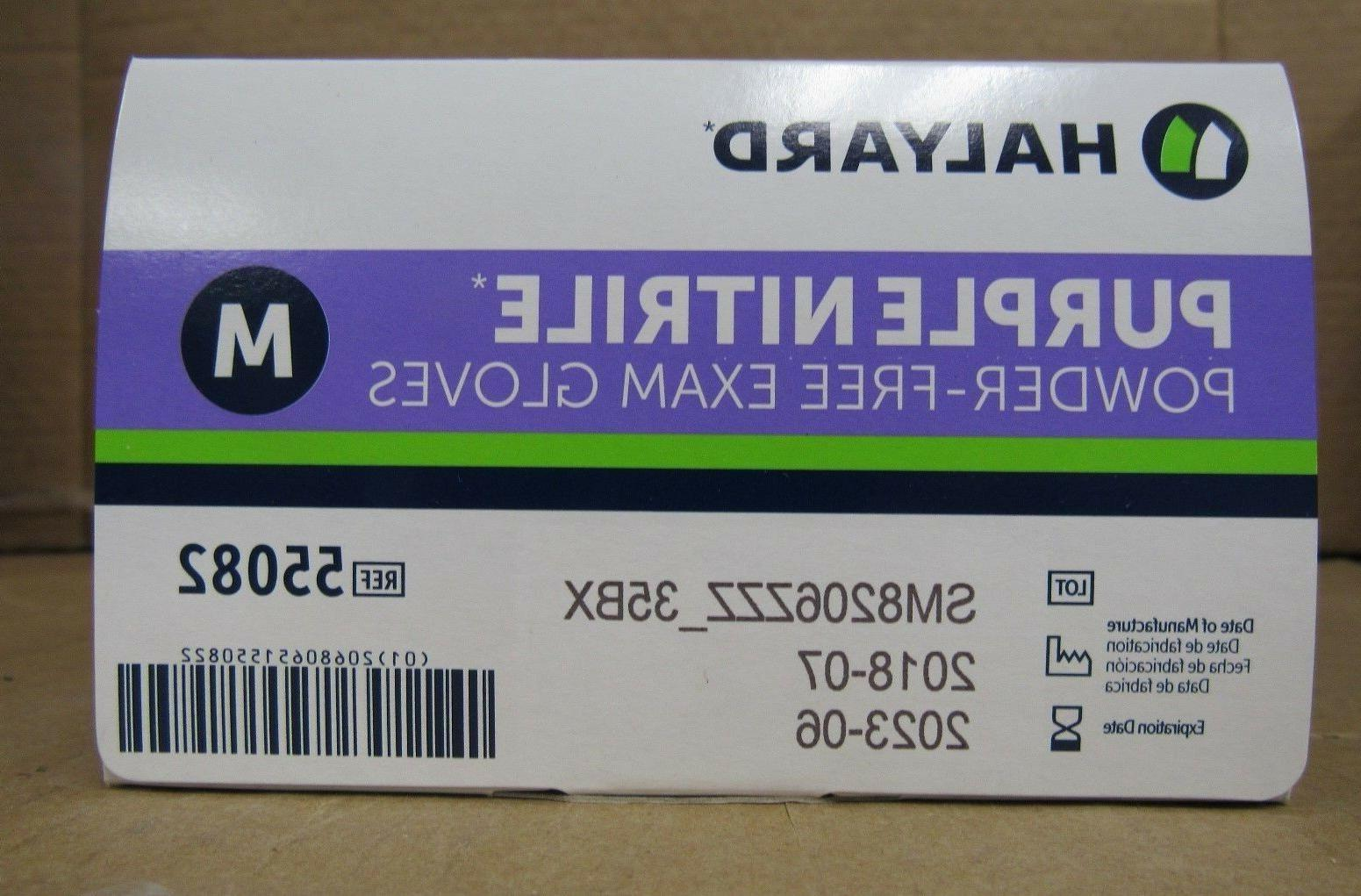 Halyard Health Nitrile Purple, Medium,