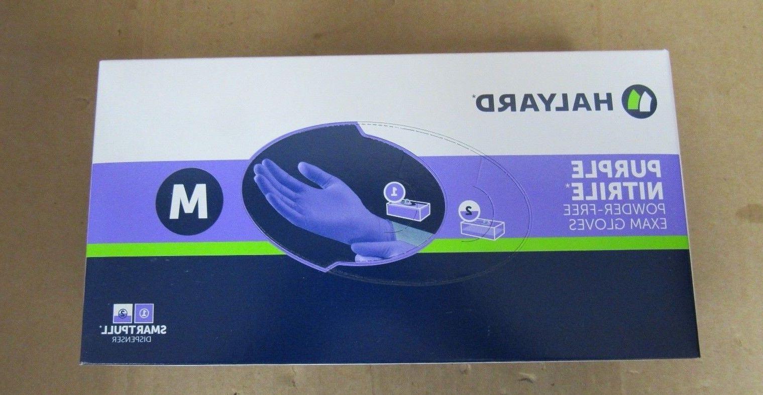 nitrile glove purple medium 100 count 7b