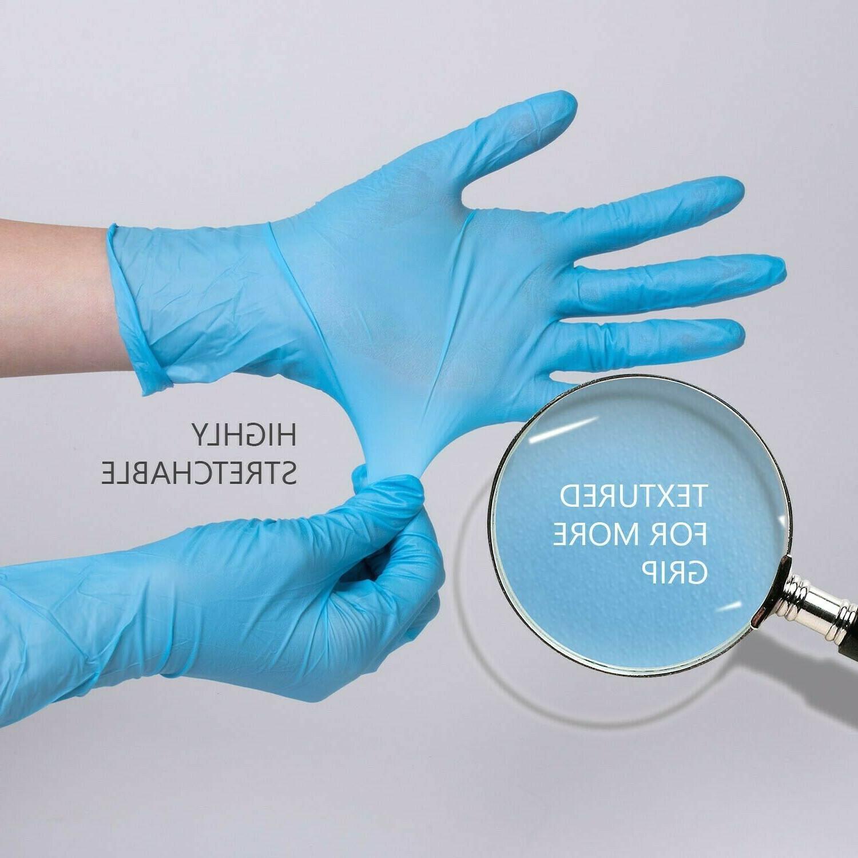 nitrile gloves disposable food grade powder free