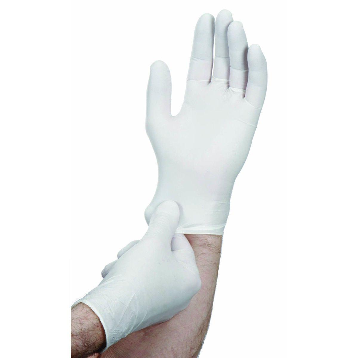 Nitrile Gloves: Heavy Medium Light 9, 7, or 3 Thick