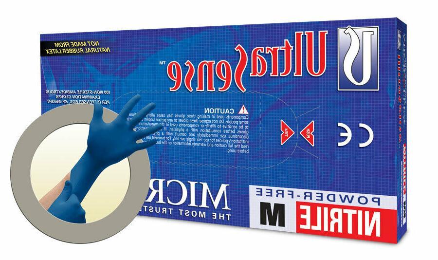 Nitrile Gloves Latex Gloves Small Medium BLACK NITRILE Protection