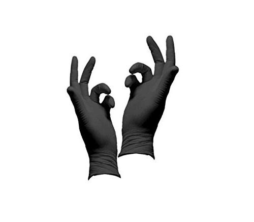 Infi-touch Glove Mil Black Case of 10