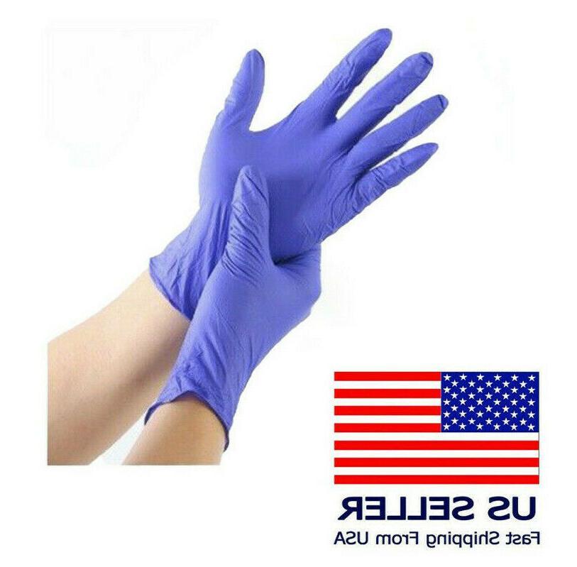 nitrile latex vinyl gloves s m l
