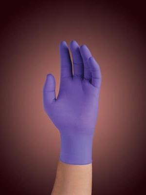 kimberly clark purple nitrile exam