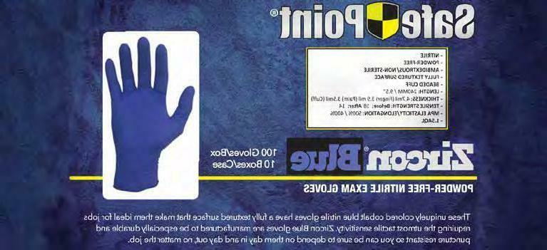 NITRILE rubber Pcs - - Blue