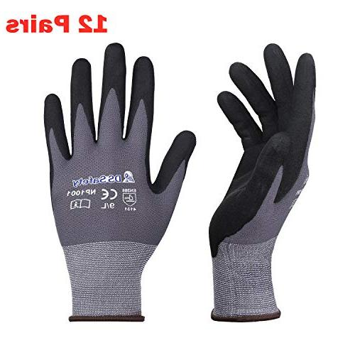 np1001 nylon knit work gloves