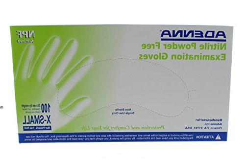 - Size Powder-free Nitrile - 100 Box -