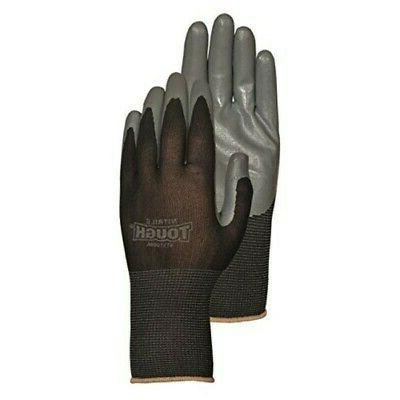 Bellingham Glove NT3700BKM Nitrile Tough 13-Gauge Nylon Knit