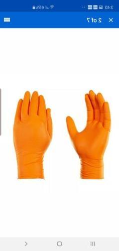 GLOVEWORKS Orange Free Disposable