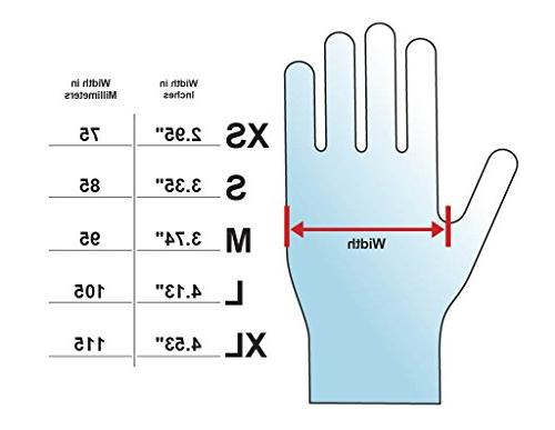Adenna mil Nitrile Exam Gloves Box 100
