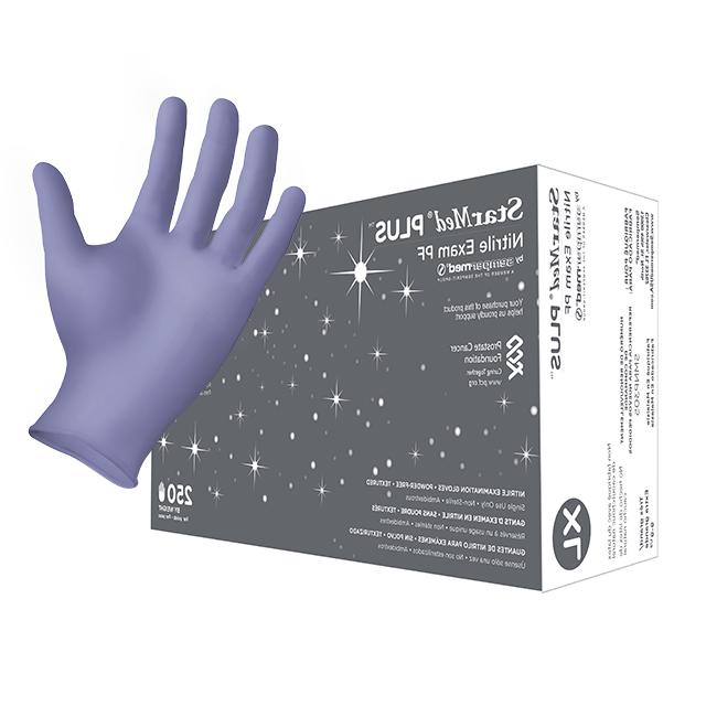 plus nitrile exam glove size x large