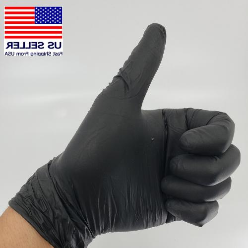 50 100 or Black Latex free Gloves