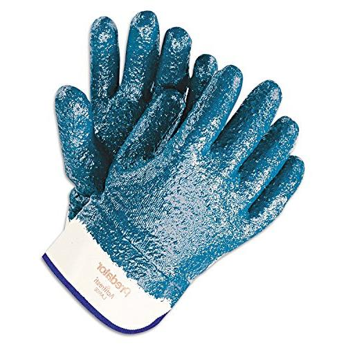 Predator Nitrile-Coated Blue/White,