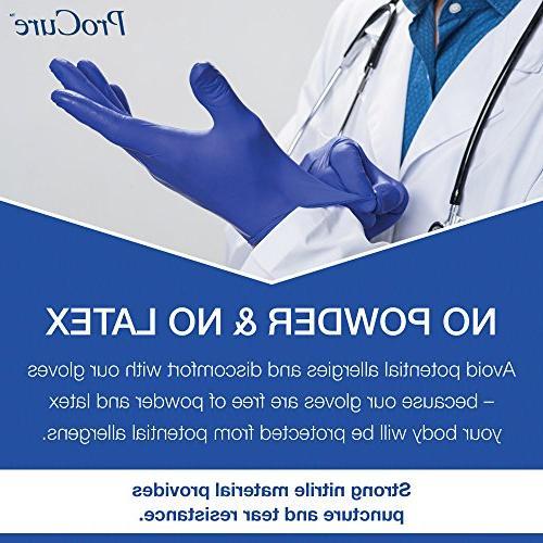 – Powder Latex Free, Medical Grade, Ambidextrous - Tips – Blue