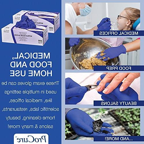 ProCure Disposable – Latex Grade, Non Ambidextrous - Soft with Textured Tips – Cool