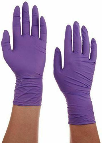 Purple Nitrile Exam Glove, Large, Kimberly Clark Halyard 550