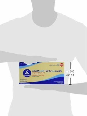 SafeTouch Nitrile Exam Gloves, Non Small,