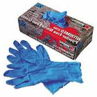 MCR Safety Nitrimed-xtra Disposable Nitrile Gloves, Blue, X-