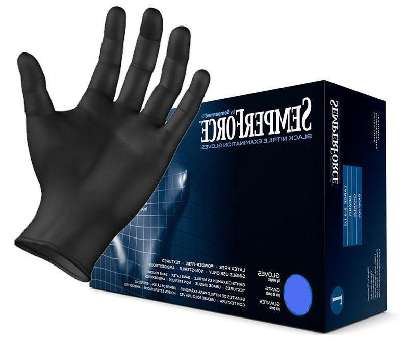 SemperForce Nitrile Tattoo Gloves, Sizes S-XXL